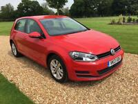 2013 13 VOLKSWAGEN GOLF 1.6 SE TDI BLUEMOTION TECHNOLOGY 5D 103 BHP DIESEL