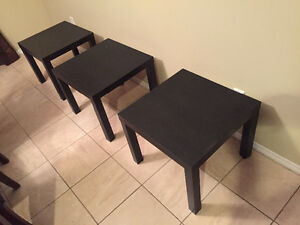 SET OF 3 END TABLES