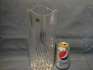 Vase de cristal  d'arque