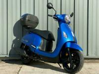 SYM FIDDLE 125cc Modern Retro Classic Scooter Learner Legal includes top box