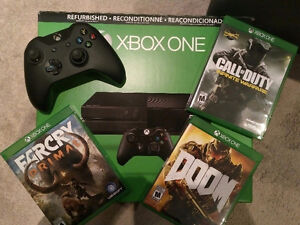 Trade: Xbox One and 3 games for Wii U