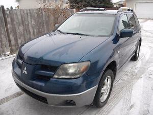 2004 Mitsubishi Outlander AWD Edmonton Edmonton Area image 1