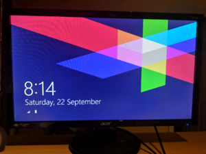 """Acer 27"""" wide angle monitor 1080p"""