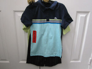 QuikSilver, boys size 8, 3-piece outfit, BNWT:REDUCED