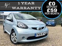 2006 TOYOTA AYGO 1.0 VVT-i SPORT 3DR ☆ IDEAL FIRST CAR ☆ NEW MOT ☆ LOW MILES!