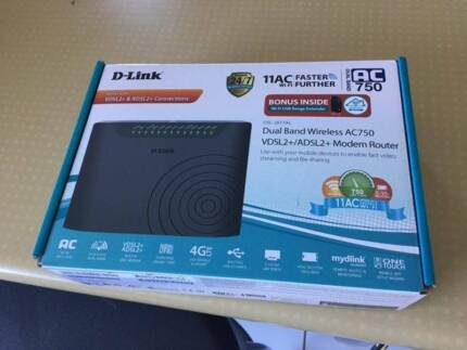 Router D-link dual band wireless  AC750