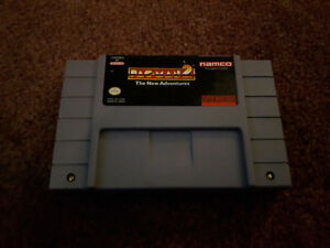 Pac-Man 2 The New Adventures SNES Working Cart