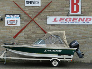 Legend 166 Sportfish, Mercury 40 hp 4 stroke & Trailer