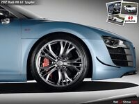 Audi r8 tribute rims and tires