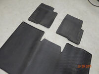 Ford Supercrew factory rubber floor mats (Front & Back)