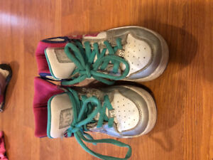 DC sneakers size 2 youth