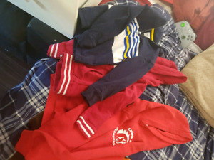 4t and 5t hoodies, collar and high quality sued coat