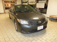 2011 TOYOTA COROLLA CE with Warranty