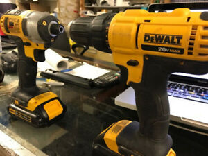 DeWalt 20V Cordless Impact and Drill