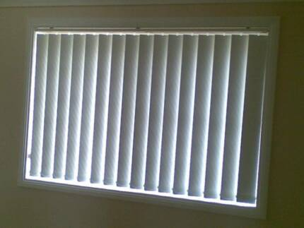 New Vertical blind slats made to measure.