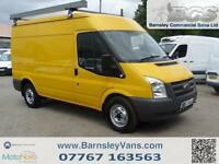 2011 11 FORD TRANSIT T330 MWB MED ROOF 115PS PANEL VAN EX COUNCIL ONLY 66K