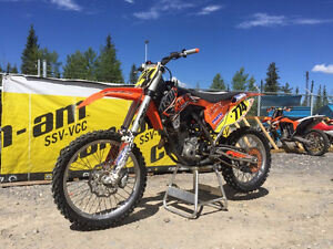 2014 250 SX-F full PR2 race bike NO TRADES private sale no gst