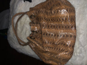 Real Snake Skin leather purse
