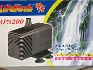 Brand new Pond/pool Pump 845 Gallon/Hour 1. Brand new LifeTech