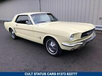 1965 C FORD MUSTANG 3.3 COUPE CRUISEMATIC AUTO CLASSIC