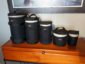 Lowepro Camera Bags and Lens Cases. Brand New Condition. $20-$75