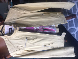 Genuine Danier Leather Yellow Jacket