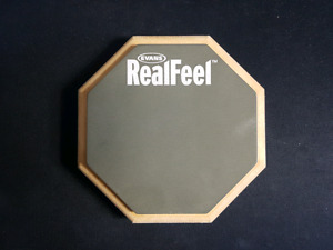 "Evans RealFeel 6"" Double-Sided Practice Pad"