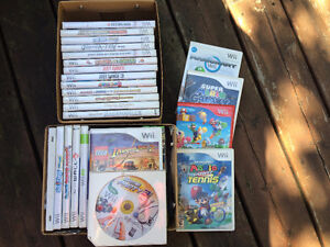 Refurbished Nintendo Wii and Wii Game Collection