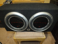 "Rockford Fosgate Punch P1 2 10"" SUBS"