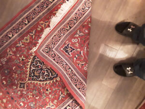 100% authentic isfahan  from Iran matching carpets