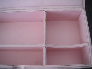 Pink Quilted Storage/Jewellery Box London Ontario image 4