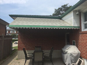FS Silver Aluminum Awning