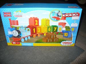 thomas the train  mega blocks   junior builders  set
