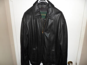 2 mens leather jackets