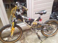 Boys mountain bike suit age 7-10