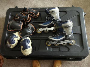 K2 Roller Blades with All Accessories Size US11 EUR 44.5