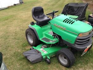 Sabre by John Deere Garden Tractor and attachments