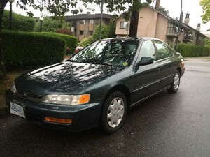 1996 Honda Accord Sedan