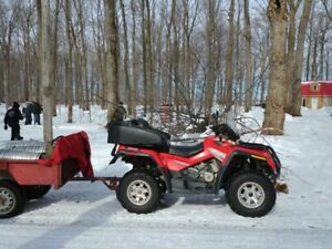 2007 CAN-AM OUTLANDER MAX 650 XT****LONGUEUIL.
