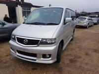 MAZDA BONGO CAMPERVAN WITH REAR CONVERSION & ELECTRICS