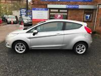 Ford Fiesta 1.4TDCi Turbo Diesel 70 DPF Zetec 3 Door Hatchback