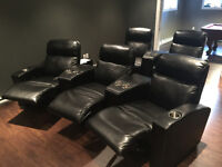 Beautiful Home Theatre Seats