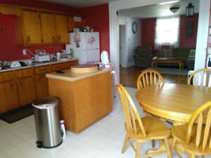 2 Bedroom Apt for rent/ Utilities included bottom of house $1,25