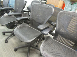 Herman Miller Aeron Chairs Fully Loaded in excellent condition
