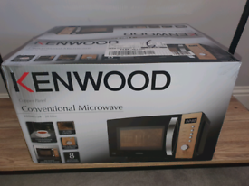 Kenwood Black & Copper 800w Microwave