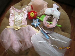 Dressup PRINCESS, Crown, Wand, Veil & MORE PLAY! sz:4-6x