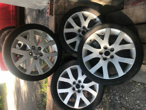 4 mags rims roues 18po 5x114.3