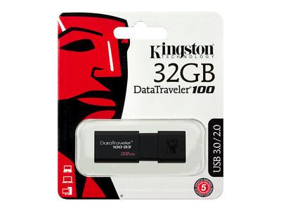 DT100G3/32GB . PENDRIVE Kingston DataTraveler 100G3 /32 gb -EMITIMOS FACTURA