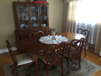 All solid wood dining set reduced in price