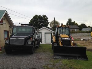Plate Forme 10 roues Freightliner